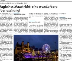 Magisches Maastricht: eine wunderbare Überraschung!